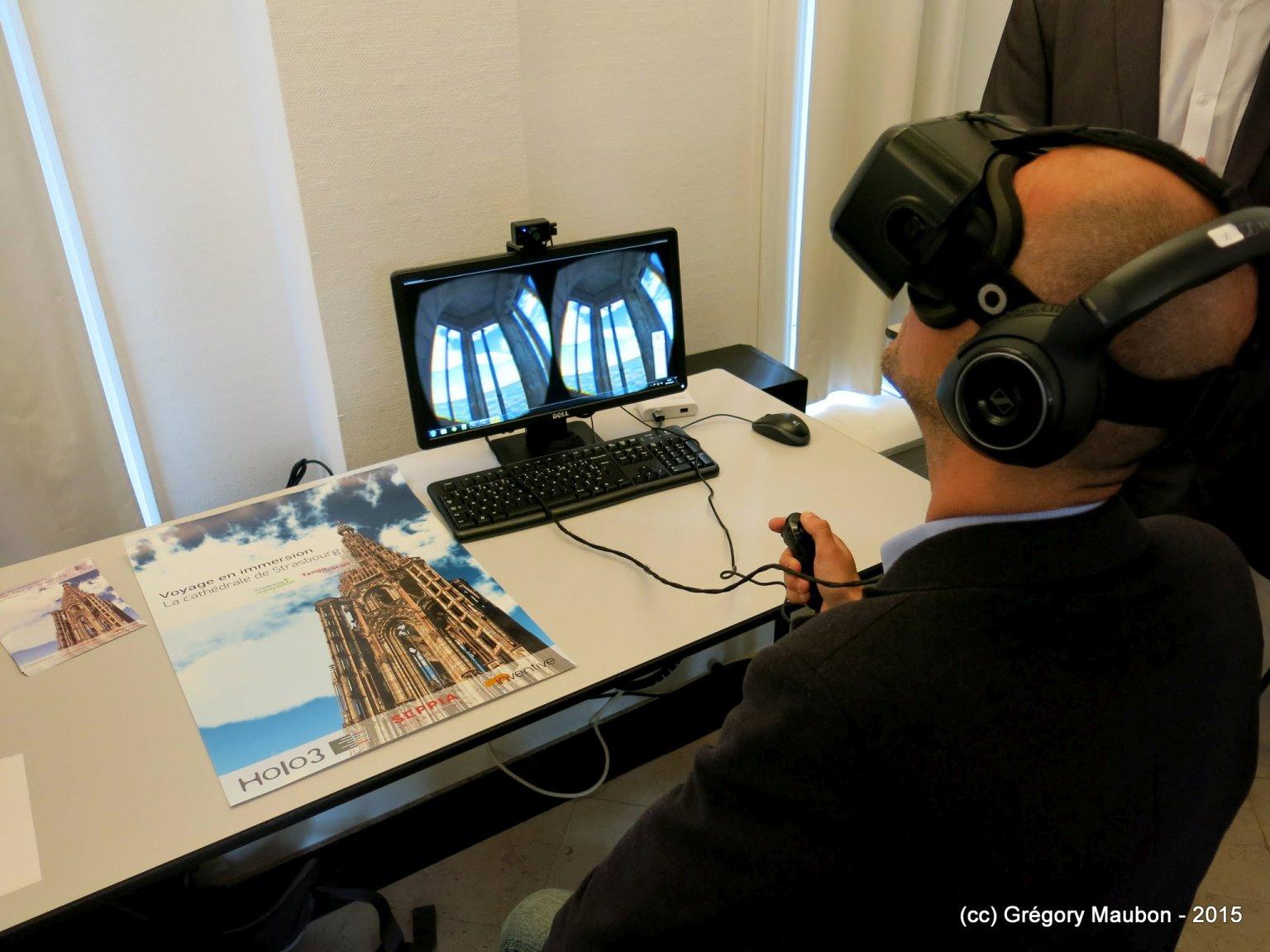 Lunettes et casques immersifs pour l'Atelier #29 du CLIC France
