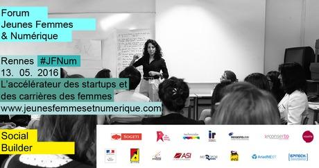 Rendez-vous au «Forum Jeunes Femmes & Numérique Bretagne» le 13 mai
