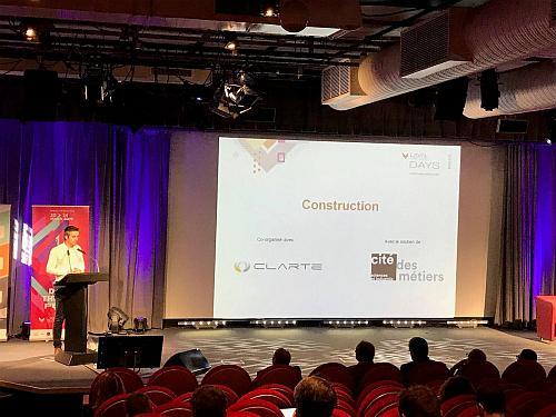 Laval Virtual Days Construction : L'accompagnement au changement, pierre prioritaire de la XR !