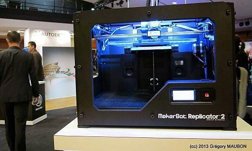 Le 3D PrintShow de Paris, images et impressions