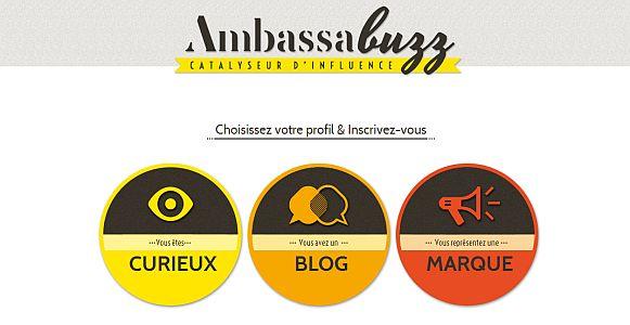 Ambassabuzz vient de lancer sa plateforme de contact marques/blogueurs