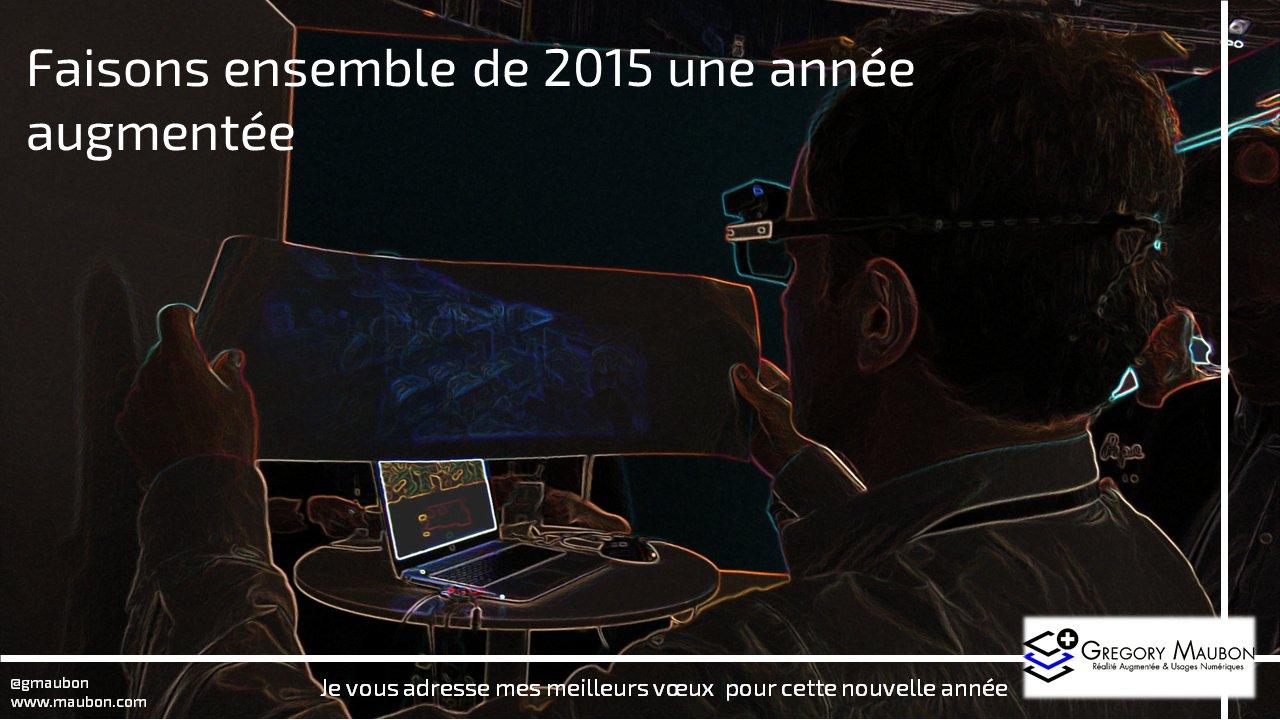 2014 est derrière et 2015 devant !