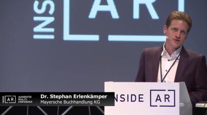 Un cas d'utilisation de la réalité augmentée en librairie : Mayersche Buchhandlung