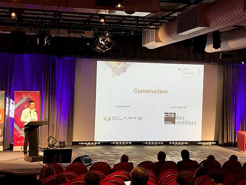 Laval Virtual Days Construction : L'accompagnement au changement, pierre prioritaire de la XR !