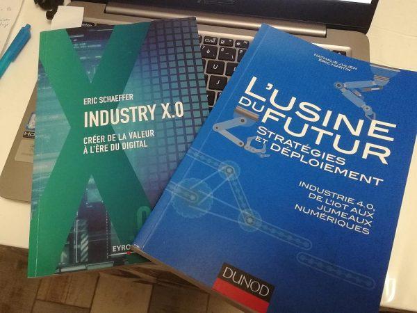 L'industrie, l'usine et le futur à travers deux livres