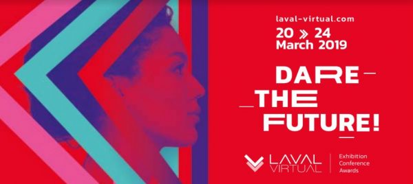 Let's go to Laval Virtual 2019 : from the office to the field!